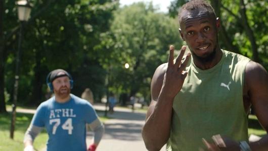Usain Bolt, prescriptor de Alpro