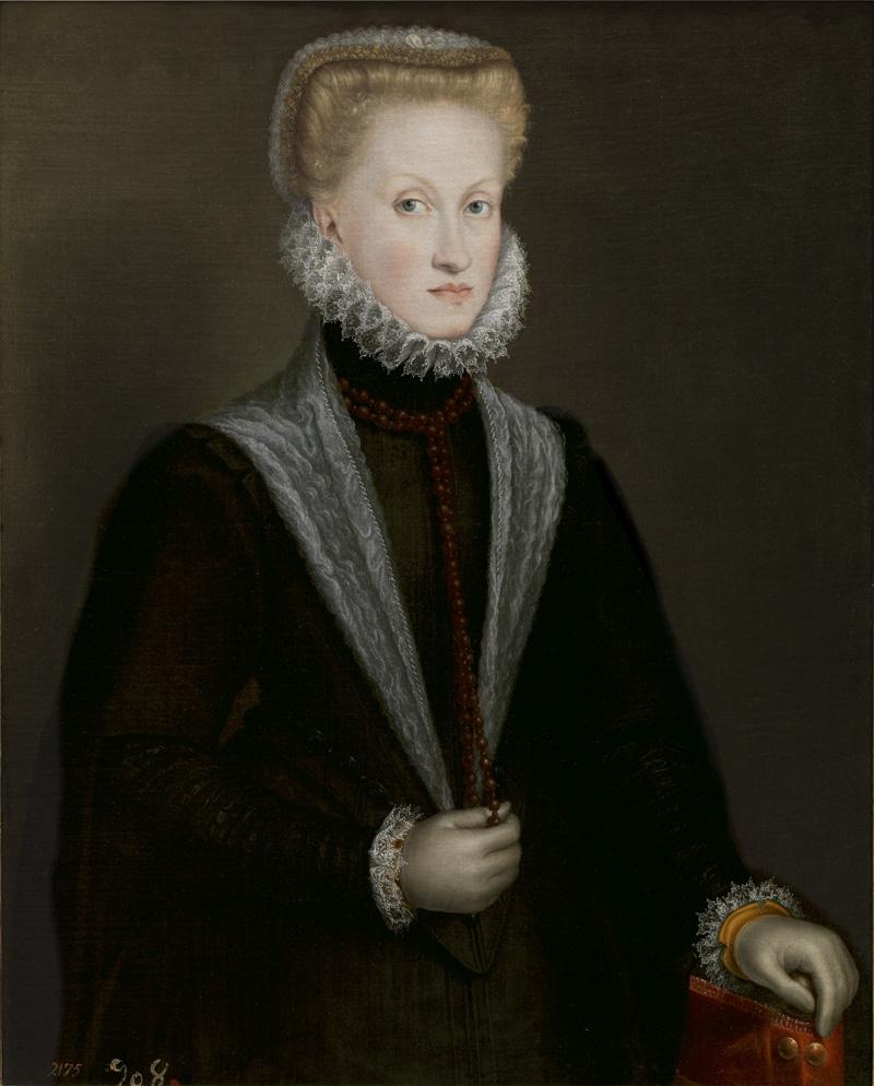 Retrato de la reina Ana de Austria por Sofonisba Anguissola, 1573. Foto: Museo Nacional del Prado.