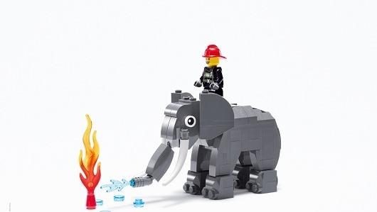 Una campaña reciente de Lego