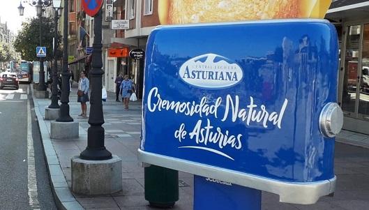 La campaña se puede ver en Gijón y Oviedo