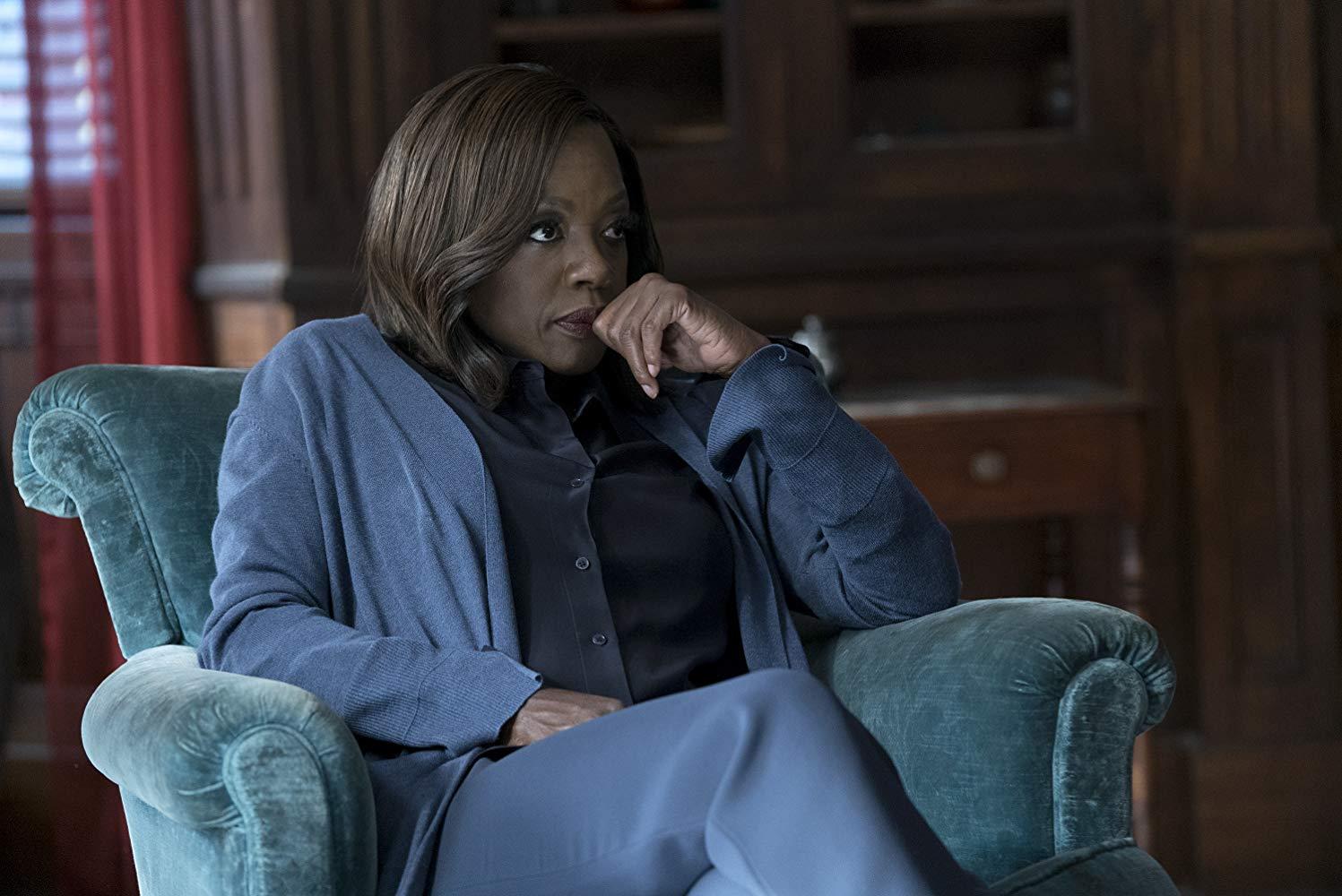 Viola Davis en 'Cómo defender a un asesino'.