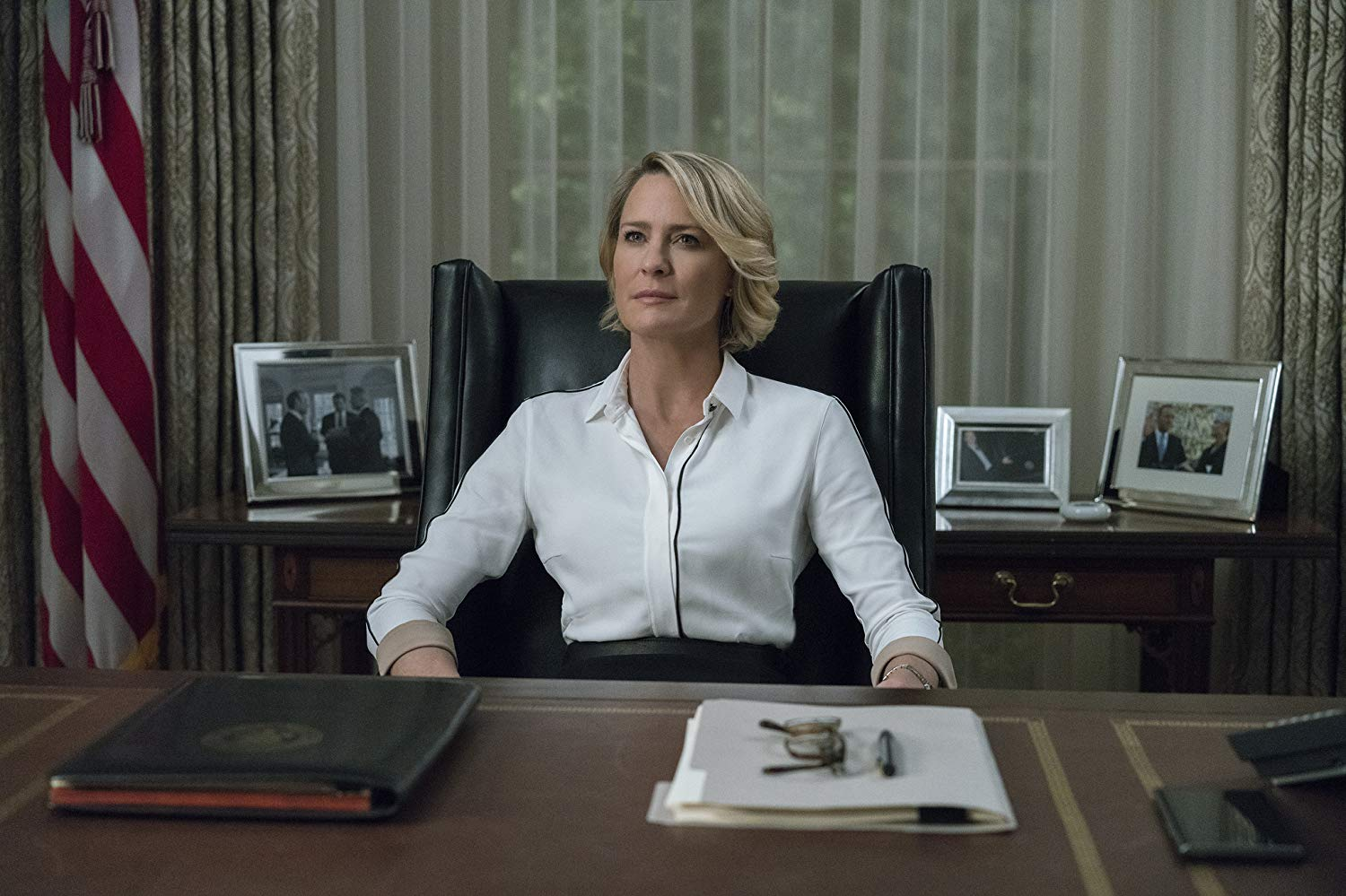 Robin Wright en 'House of cards'.