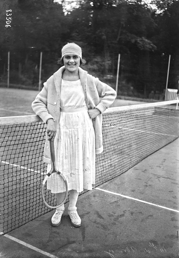 Lilí Álvarez, en 1923. Foto: Wikimedia Commons.
