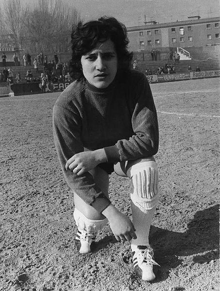 Conchi Amancio, en los setenta. Foto: Wikimedia Commons.