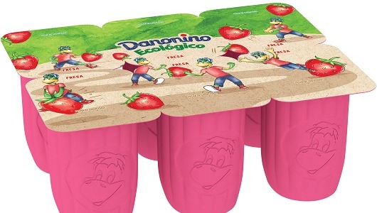 La marca Danonino presenta su primera referencia ecológica en formato tipo 'petit-suisse'.