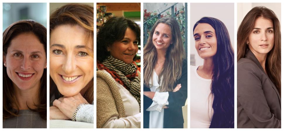 Seis mujeres a seguir en el mundo de la empresa