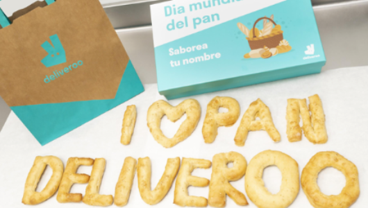 El pan de Deliveroo