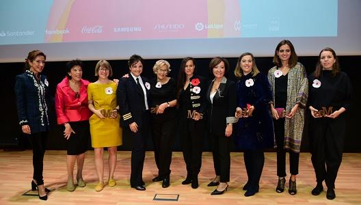 La gala fue inaugurada por la ministra de Educación y Formación Profesional, Isabel Celaá (segunda por la izquierda)