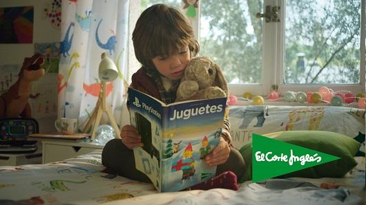 Imagen de la campaña de juguetes de El Corte Inglés