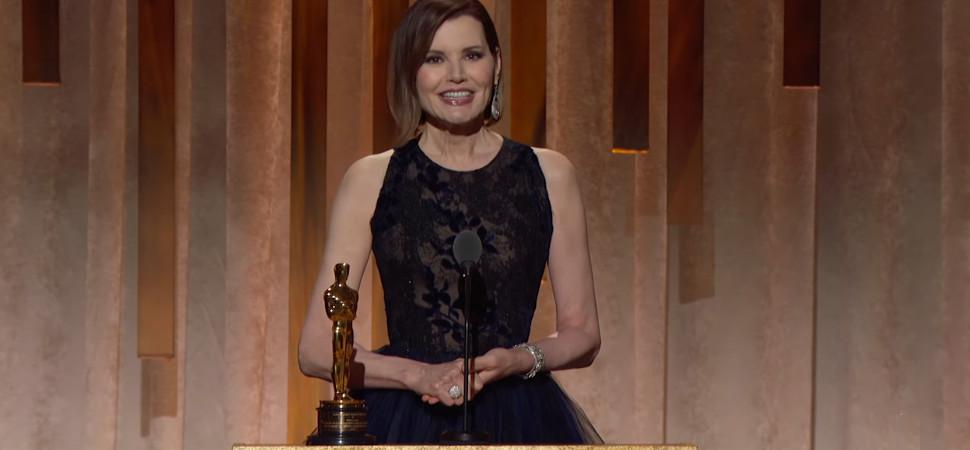 Dos iconos del feminismo en Hollywood reciben los Oscar honoríficos