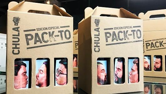 Está a la venta una edición limitada de Chula Especial PACK-TO en bares y establecimientos.