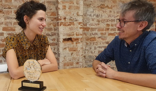 Nora Miralles y Jose Carnero, de Innuba