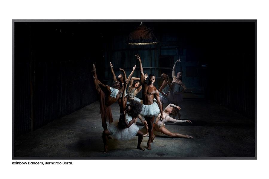 Interpretación de 'Bailarinas basculando', de Edgar Degas