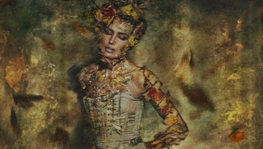 La modelo Nieves Álvarez es la protagonista de la fotografía de Mario Sierra