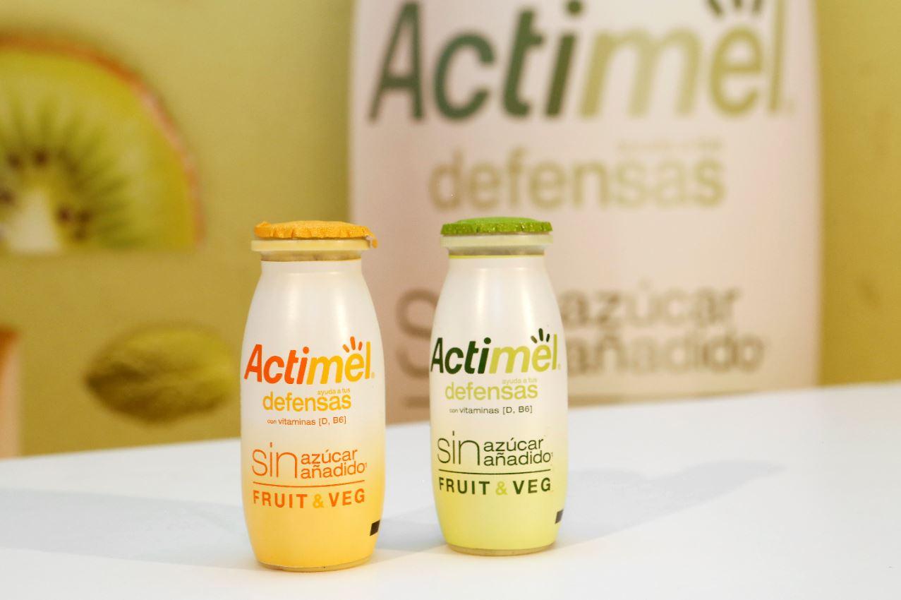 Las dos variedades del nuevo Actimel