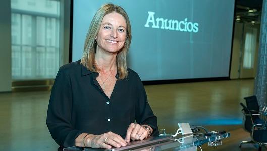 Laura Ros, en el evento organizado por la revista 'Anuncios'