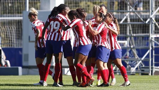 Hyundai patrocina el equipo femenino del Atlético de Madrid, ganador de cuatro Ligas y una Copa de la Reina