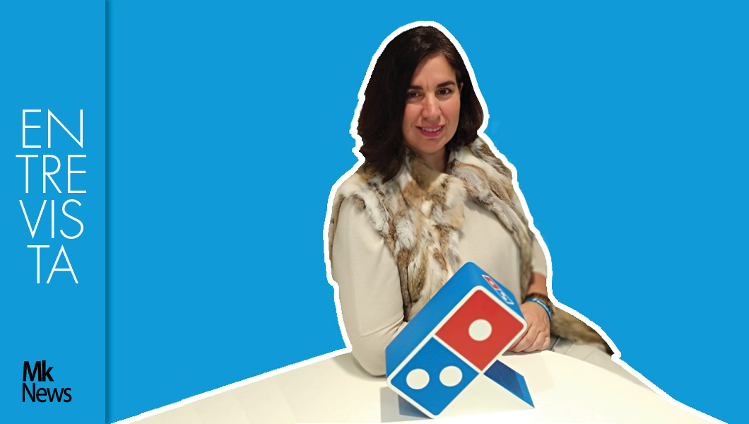 Silvia Serrano, directora de marketing de Domino's Pizza