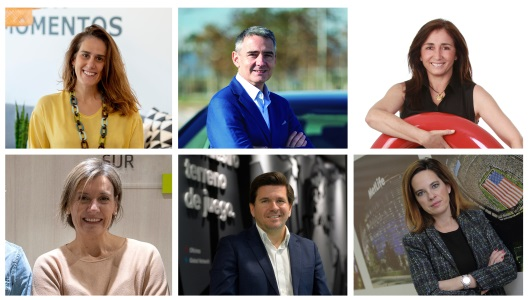 Laura Durán, Albert García, Celia Caño, Silvia Bajo, Enrique Moreno y Patricia Jiménez