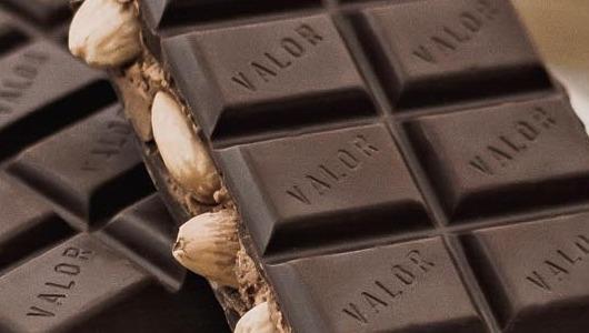Este turrón de chocolate Valor tiene un PVP recomendado de 18,99 euros