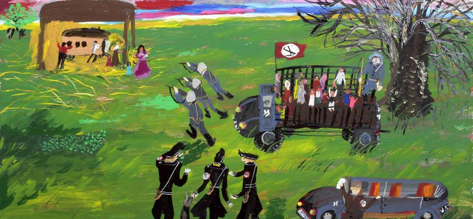 Ceija Stojka, la superviviente gitana que pintó el Holocausto nazi