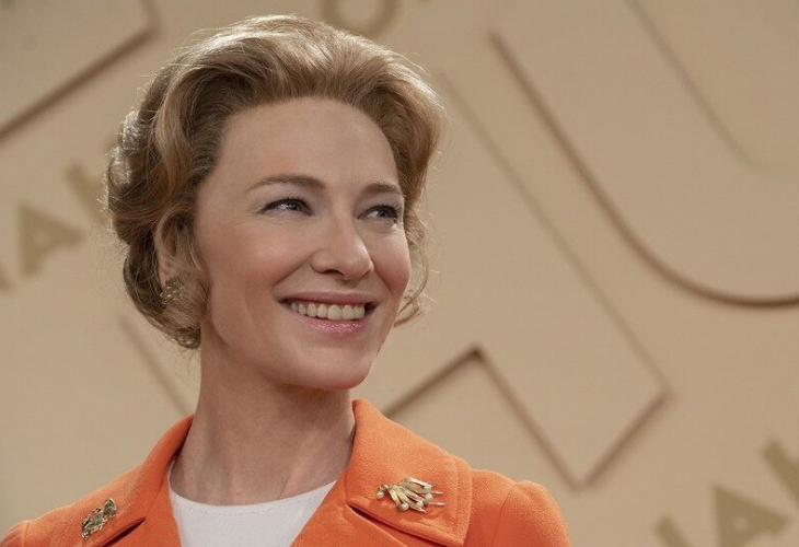 Cate Blanchett encarna a Phyllis Schlafly.