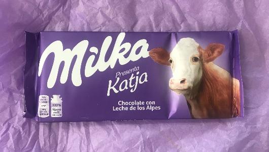 Una de las chocolatinas ha llegado a la redacción de MarketingNews