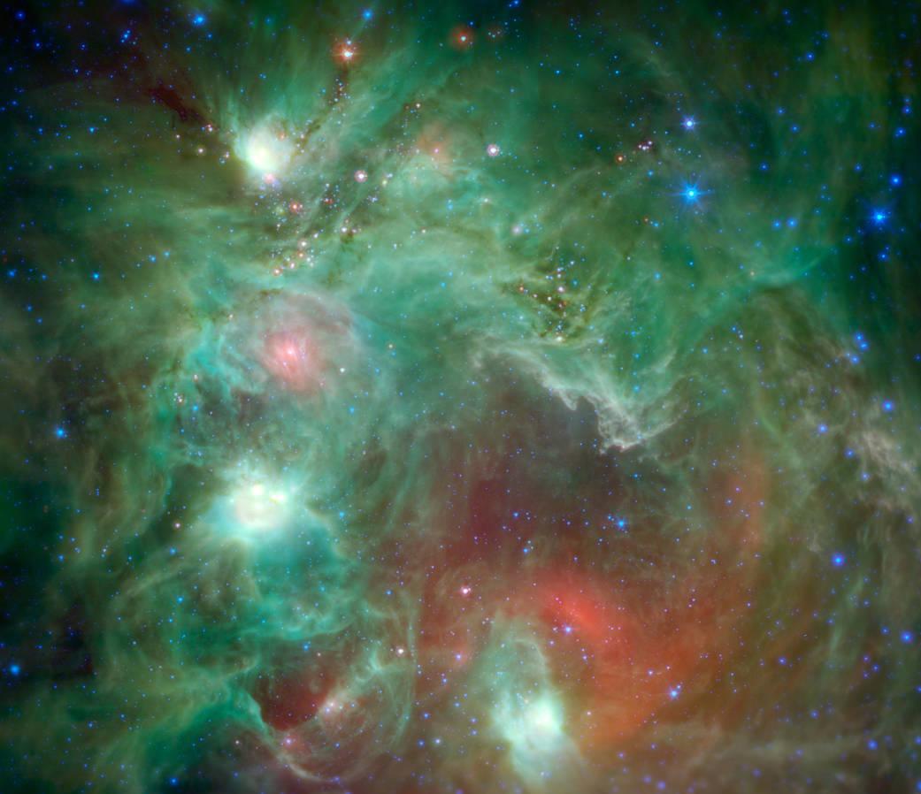 Nebulosa NGC 2174.