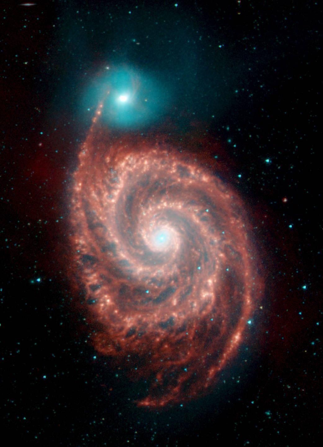 Imagen de la Galaxia Remolino (M51)