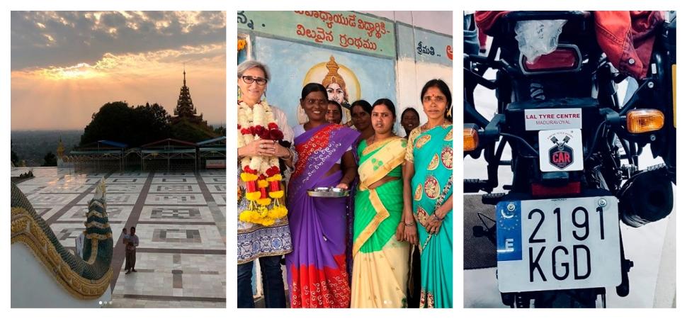 La vuelta al mundo de La Motera: cruzando la India hasta Myanmar