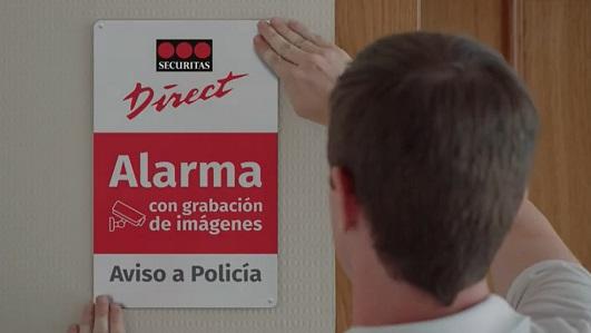 Imagen de la campaña de Securitas Direct