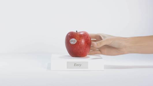 Las manzanas Envy son de la variedad Scilate