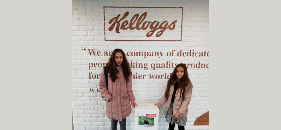 Dos hermanas consiguen que Kellogg's cambie su política sobre el aceite de palma