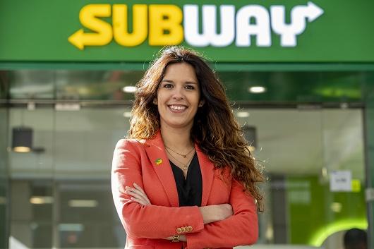 Inês Fonseca trabaja desde septiembre de 2018 en Subway.