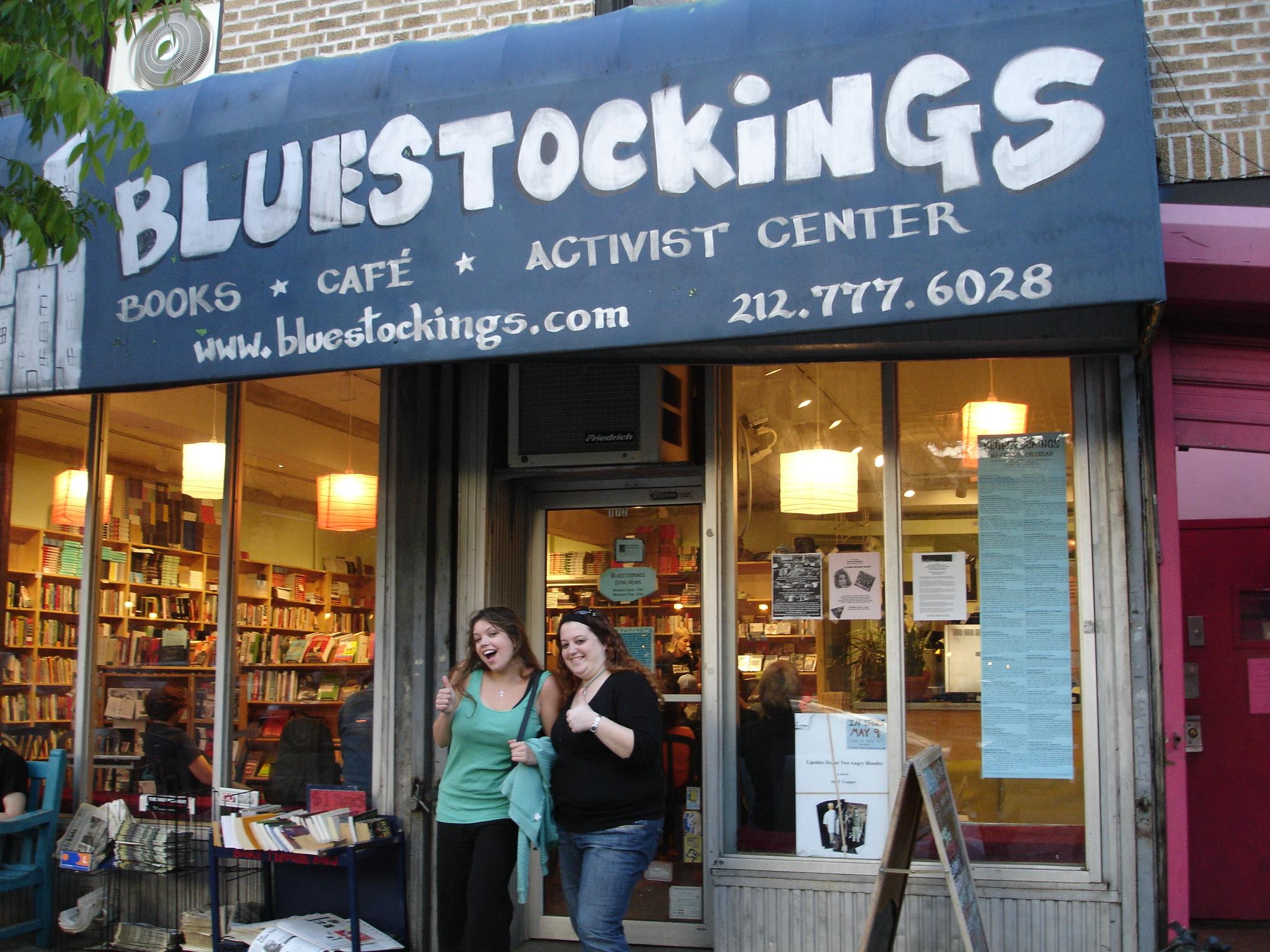 Librería Bluestockings.