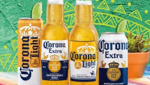 La marca de cerveza Corona es propiedad de la multinacional belga Anheuser-Busch InBev