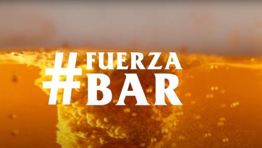 Una de las acciones de apoyo a los bares