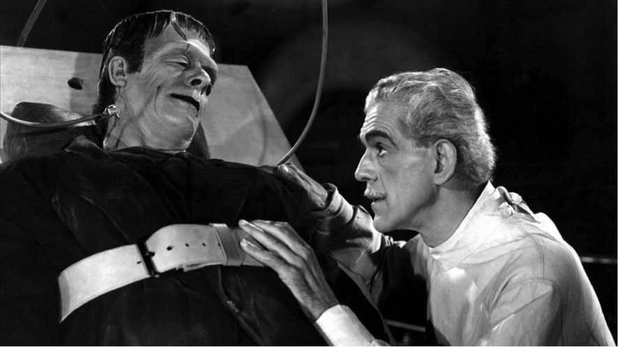 Boris Karloff y Colin Clive dan vida a Victor Frankenstein y su 'criatura' en la primera adaptación al cine de la novela, de 1931.