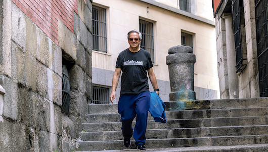 Eduardo Madinaveitia, fotografiado por Santiago Ojeda