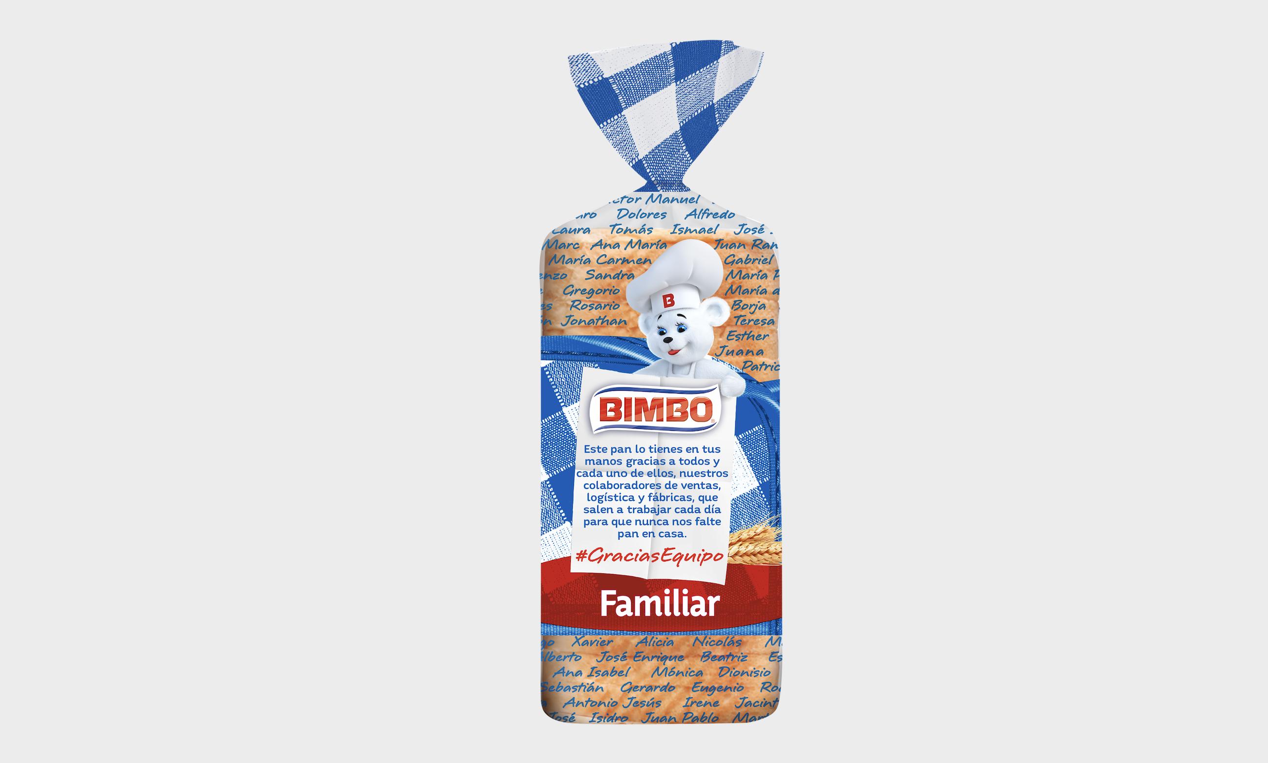 La edición especial de Bimbo por la crisis sanitaria