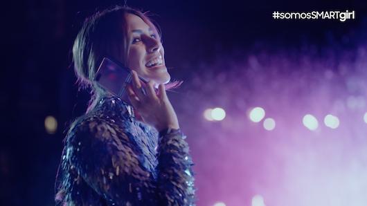 La actriz Blanca Suárez lleva años siendo embajadora de la marca Samsung