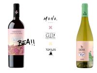 Dos vinos con carácter creativo y solidario