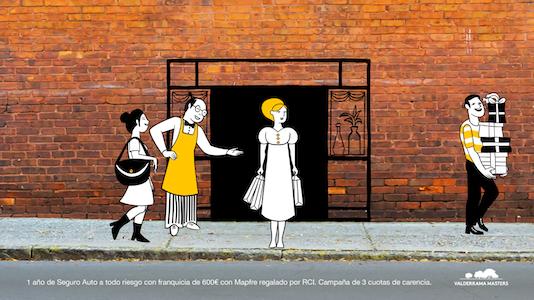 Publicis ha contado con la colaboración de un ilustrador para este trabajo