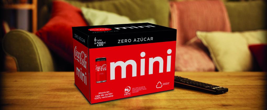 Las minicans de Coca-Cola