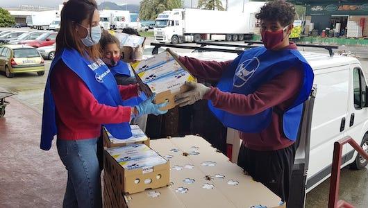Danone ha contado con la colaboración de la Federación Española de Bancos de Alimentos (FESBAL) para canalizar las ayudas