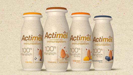La nueva gama de Actimel