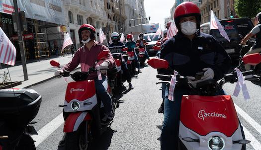 Las motos de Acciona