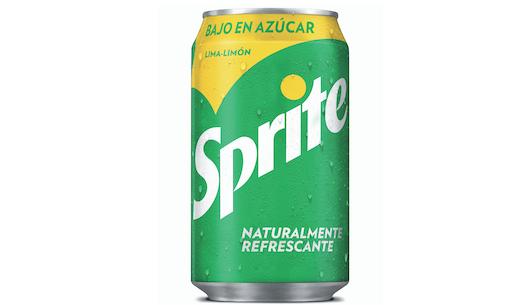 Una de las nuevas latas de Sprite