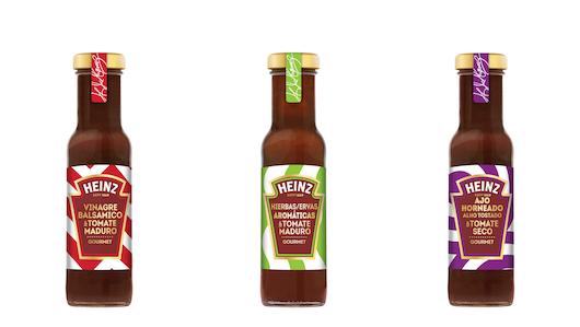 Las tres referencias de la nueva gama de Heinz