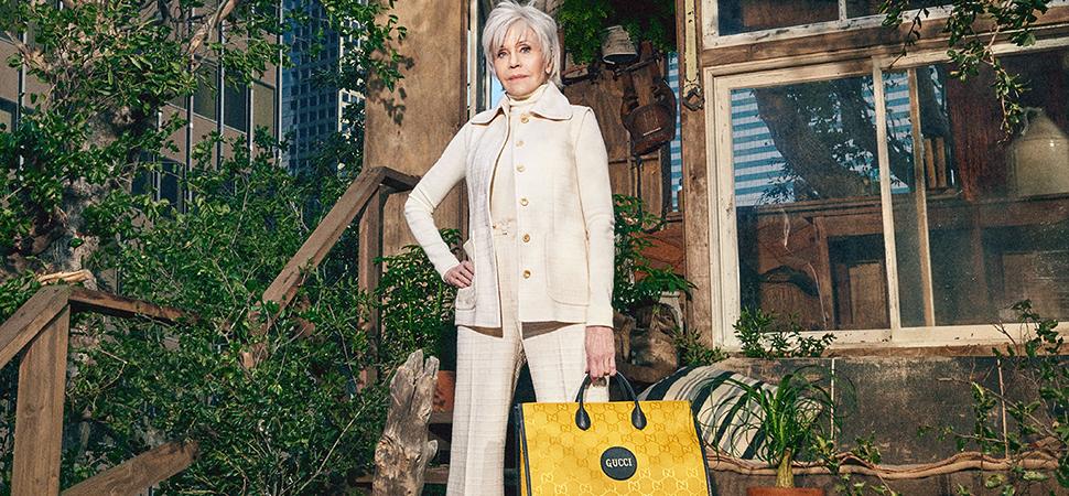 Jane Fonda lleva su compromiso medioambiental a la moda